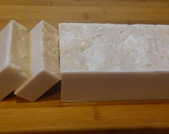 Cottage Farms Goat's Milk Soap Handmade 3 Pound Loaf--OATMEAL MILK & HONEY