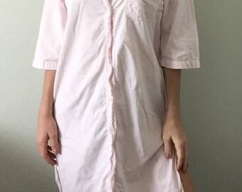 Vintage Oversized Pink Pastel Dress