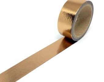 Copper/Bronze Foil Washi Tape