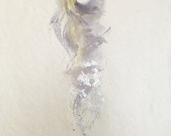 Guardian Series fig.25 number 10 -- Fine Art Painting