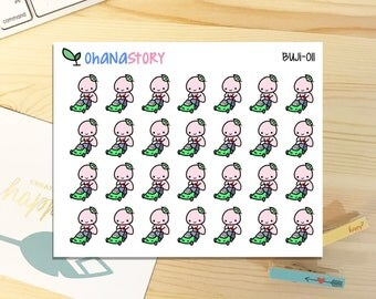 Buji - MOW LAWN - Planner Stickers (BUJI-0011)