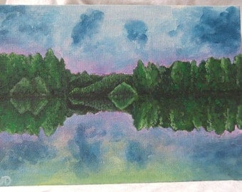 Quarry Reflections Acrylic