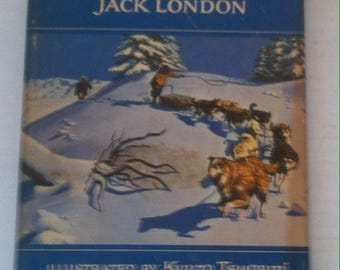 Vintage 1979 Book, The Call of the Wild and Other Stories, By Jack London, Classic Story Book, 8 1/2 x 6 inches