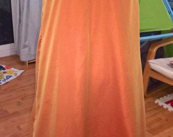 100% Silk Square Neck Line Regency Ball Dress, Gown, Handmade, Made to Order