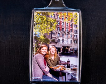 "Three Custom Photo Keychains and Photo Magnet 2.75"" X 1.75"""