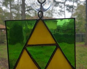 Zelda Triforce Suncatcher