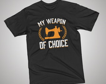Sewing Weapon of Choice T-Shirt