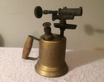 Vintage Brass Blow Torch