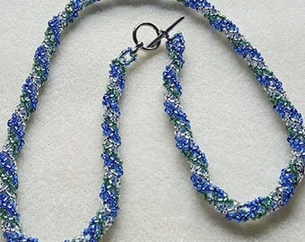 Russian Spiral Variation Necklace