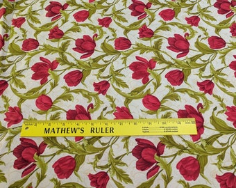Tulip Festival Cotton Fabric from Benartex