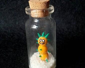Super Mario - Pokey - charm - polymer clay - Handmade - (Inspired)