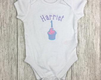 first birthday vests, first birthday Vest, 1st birthday, Cupcake Vest, cake vest