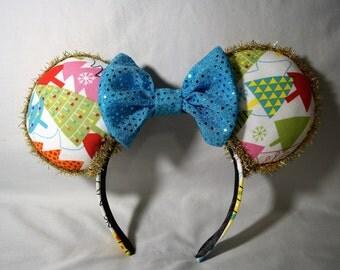 Whimsical Christmas Tree Minnie Mouse Ears