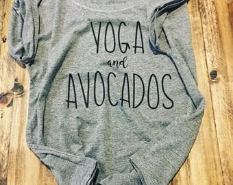 Yoga and Avocados T-Shirt