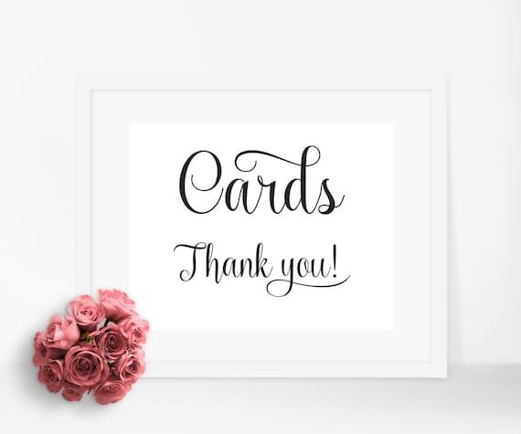 Wedding Gift Card Box Sign : cards box sign, cards box sign, wedding sign, wedding decor, card box ...