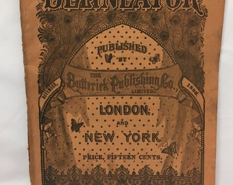 Delineator magazine November 1886