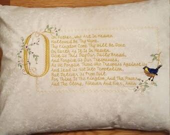 Pillow - The Lord's Prayer Pillow