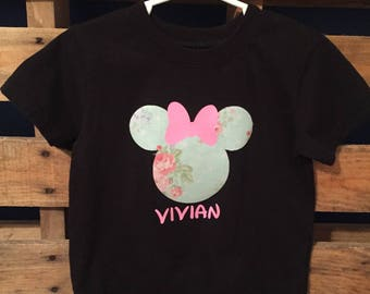 Minnie Mouse Shirt, Personalized shirt, Disney Shirt
