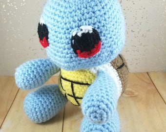 Squirtle Amigurumi - Crochet Squirtle - Squirtle Doll