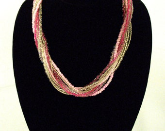 Multi Strand Necklace - 4 Color & Style Options