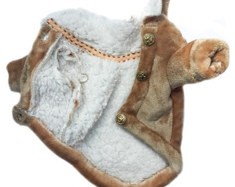 Dog coat, Dog jacket ,dog faux wool jacket, cat jacket, cat coat, chihuahua coat, dog wool jacket, french bulldog coat