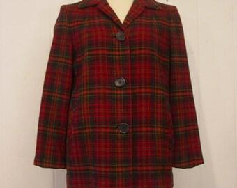Vintage jacket, 1960s jacket, vintage Pendleton, vintage clothing, medium