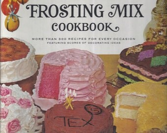Betty Crocker's Cake and Frosting Mix Cookbook 1966 1st Edition/Printing