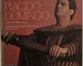 Placido Domingo ARIAS from ITALIAN Opera