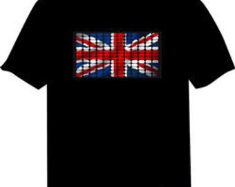 Union Jack Light Up Shirt