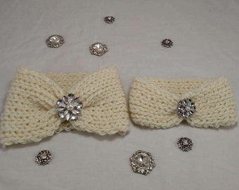 Mommy and Me Winter Sparkle Ear Warmer Set