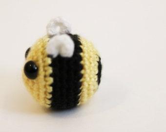 Small Crochet Bee Amigurumi