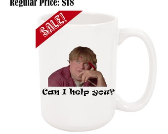 Customer Support - Chris Farley Mug