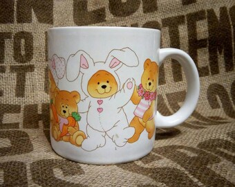 Teddy Bears Coffee Cup by Applause Wallace Berrie