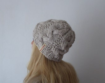 Beanie, + colors, handknit, chunky knit, winteraccessoires, cable knit, winter hat