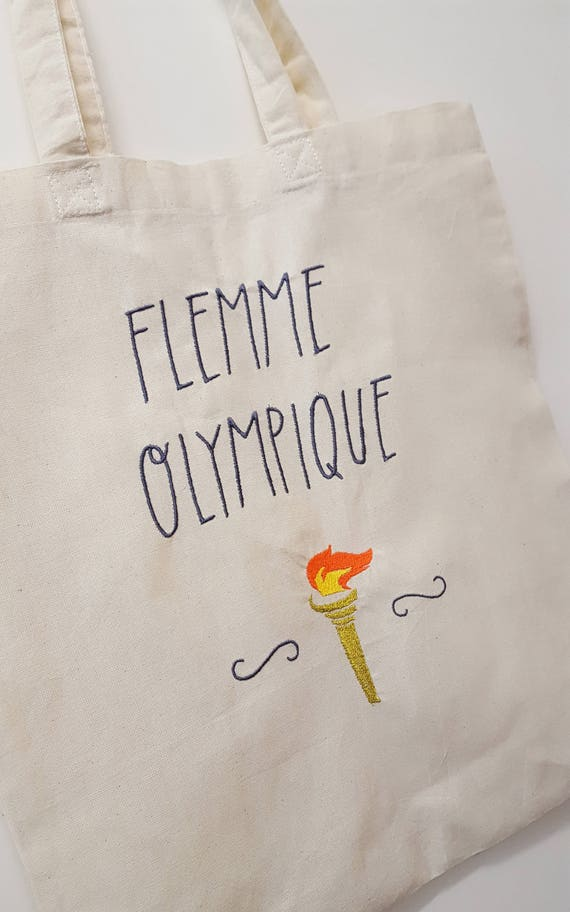 """Tote Bag """"Olympic lazy"""""""