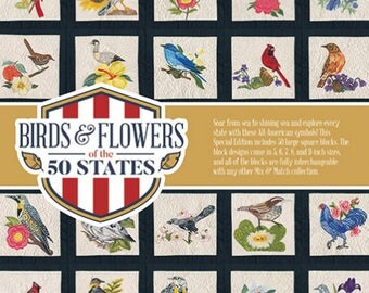 Birds & Flowers of the 50 States by Anita Goodesign Multi-Format CD