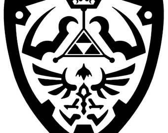 Zelda Hylian Crest Vinyl