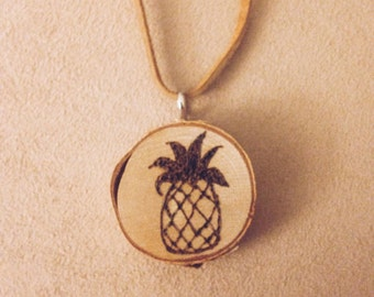 Pineapple Essential Oil Defuser Necklace
