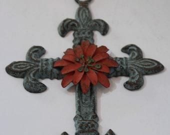 Decorative Cross, Decorative Wall Cross, Decorative Crucifix, Wall Cross,  Christian Decor,