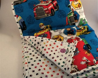 Paw Patrol Quilt - Patches on Patrol