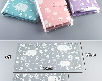 Planner plastic cover,planner cover,kawaii planner cover,kitty cat planner cover