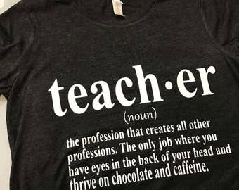 Teacher Definition T-shirt