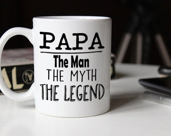 The Man The Myth They Legend, Fathers Day Mug, Father's Day Mug, Gift for dad, Fathers Day Gift, Dad Mug, Dad Coffee Mug, gift for him