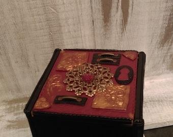 Fimo jewelry box.