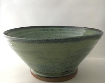 Ceramic Bowl, Katydid Green