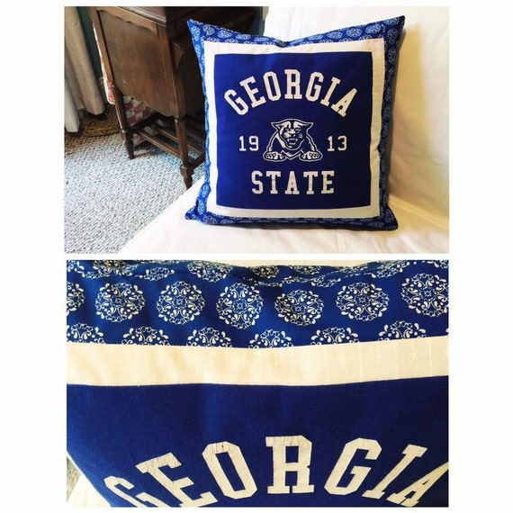 Georgia State University T-Shirt Pillowcase