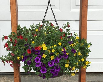 Personalized Hanging Basket Stand