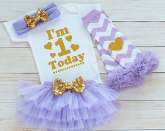 One Birthday Outfit, 1st Birthday Girl, First Birthday Girl Shirt, Cake Smash Outfit, Birthday Girl Bodysuit, Tutu Outfit, 1st Birthday Gift