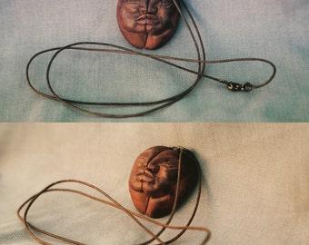 Jewelry, avocadostone, sculpture