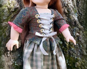 """Scottish Highlander Adventure Outfit for 18"""" Doll"""
